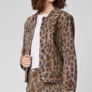 Blank NYC Leopard Jean Jacket